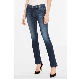 Mother The Rascal Straight Leg Jeans